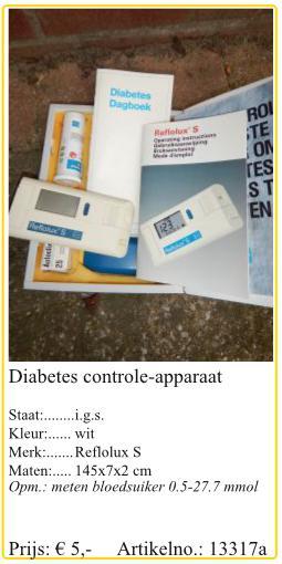 apparaat bloedsuiker meten diabetes